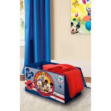 Disney Toy Organizer Disney Mickey Mouse Room In A Box With Bonus Toy Bin Walmart Com