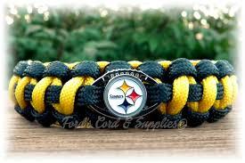 pittsburgh steelers bracelet paracord bracelet survival
