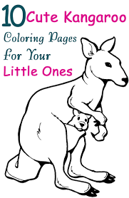 top 72 kangaroo coloring pages free coloring page