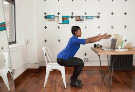 Desk Exercises At Work Desk Exercises The Best Moves You Can Legit Do At Work Greatist