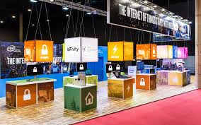 display stands at iot build up