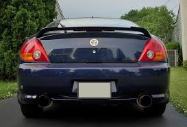 2003 hyundai tiburon exhaust system 2003 hyundai tiburon gt with ark performance dual exhaust system