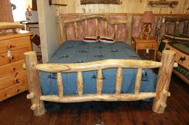 beds rustic wooden bed frames log frame wood beds for sale heads