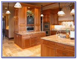 paint color with natural cherry cabinets painting home design