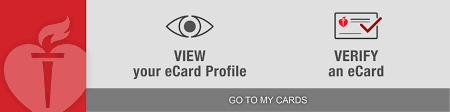 to my card course card information