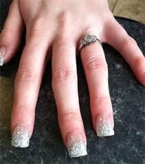 easy nail art glitter smashing glitter wedding nail art designs ideas 2014 fabulous