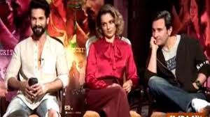 hatari cast rangoon shahid kapoor kangana ranaut and saif ali khan exclusive