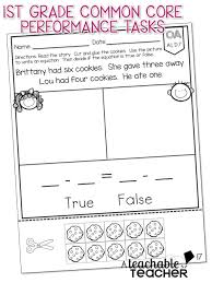 first grade common core math equation math and common cores