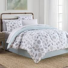 Light Blue And White Comforter Buy Gray White Comforter Set From Bed Bath U0026 Beyond