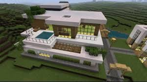 2 story modern house plans 2 story modern minecraft house youtube one story house designs