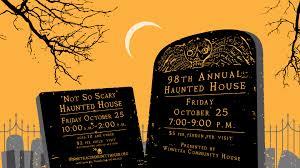 98th annual haunted house winnetka community house