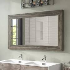 Tri Fold Mirrors Bathroom Bathroom Mirrors You Ll Wayfair