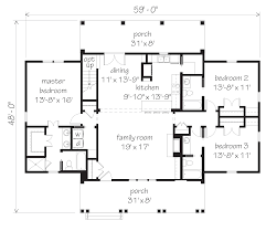 floor plans southern living house dogtrot house plans southern living
