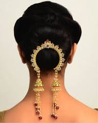 bridal hair accessories of south india