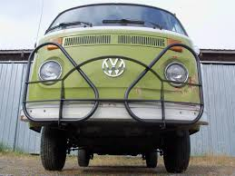 volkswagen van front view thesamba com bay window bus view topic hurst bar or roo bar