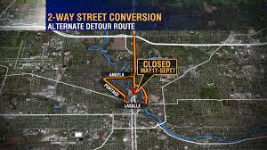 Michigan Traffic Map by Maps South Bend U0027s Michigan Street Closure Detours