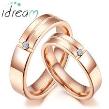 tungsten women rings images Rose gold tungsten wedding bands for women and men tungsten jpg