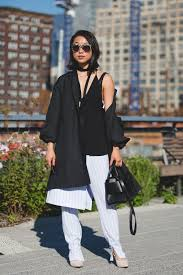 off the shoulder coats styling trend