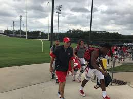 uh football team u0027s meeting room suffers flood damage houston