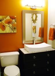 orange bathroom decorating ideas awesome orange bathroom decorating ideas ideas decorating