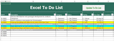 How Do You Do Excel Spreadsheets Free Excel To Do List Spreadsheet Excel Help Desk
