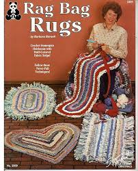 Crochet Rugs With Fabric Strips 88 Best Fabric Strip Crocheting Images On Pinterest Knitting