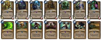 custom cards custom hearthstone set 14 cards for each class fan creations