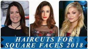 womens hair cuts for square chins 18 perfect short hairstyles for square faces 2018 youtube
