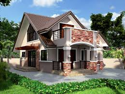 one bungalow house plans bedroom bungalow house plan philippines beautiful one floor