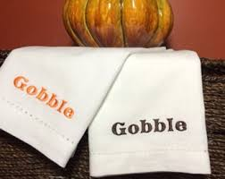 fall cloth napkins thanksgiving dinner napkins orange