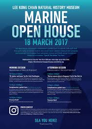 guided tours of singapore marine open house 18 march 2017 news from lee kong chian