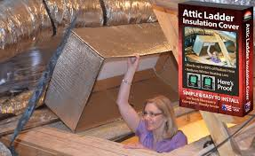 reach barrier 3139 reflective air attic ladder insulation kit