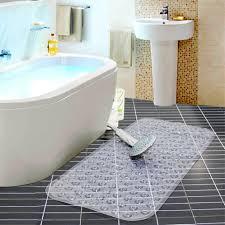 Bath Shower Mat Large Strong Suction Anti Non Slip Bath Shower Mat Foot Massage