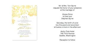 wedding announcement wording exles sles of wedding invitations wedding invitation wording exles
