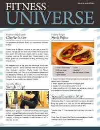 example news letter 10 company newsletter templates free sample