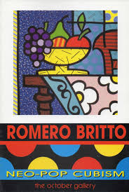 britto garden romero britto exhibition catalogue neo pop cubism