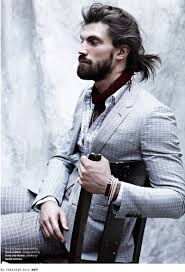 Men Hairstyle Magazine by Man Bun Trend The Male Updo From Jared Leto To Leonardo Dicaprio