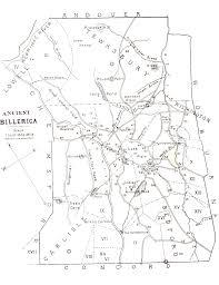 Ma Map Maps Billerica Public Library