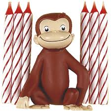 curious george cake topper the official pbs kids shop curious george cake topper and candles