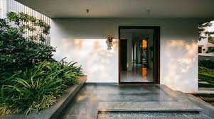 courtyard home courtyard house bangalore abin design studio