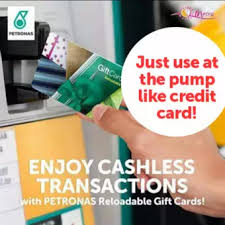 reloadable gift cards petronas gift card reloadable lazada