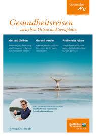 G Stige Sch E K Hen Gesundheitsreisen Zwischen Ostsee Und Seenplatte By