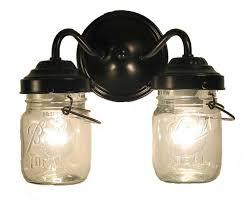 Vintage Bathroom Vanity Lights Stylish Vintage Bathroom Vanity Lights Vintage Clear Canning Jar