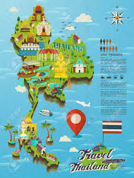 Map Of Thailand Maps Of Thailand For Tourists Thailand Tourist Map Thailand