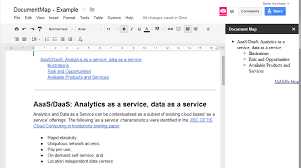 Google Doc Table Of Contents Playing With Google Docs Sidebar Using Google Apps Script U2013 Mashe