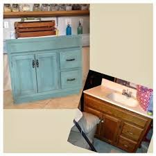 Painting Bathroom Vanity by Bathroom Vanity Redo Using A Mix Of Kitchen Scale And Linen Milk