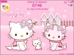 charmmy hellokitty pinky winter free blackberry themes download