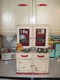Kitchen Hoosier Cabinet Tracy U0027s Toys And Some Other Stuff Antique Toy Kitchen Cupboard