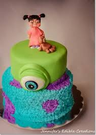 monsters inc birthday cake monsters inc birthday cake cake by s edible creations