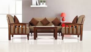 Sofas Buy Sofas Couches Online At Best Prices In India Amazonin - Wooden sofa design